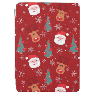 Red Christmas pattern iPad Air Cover
