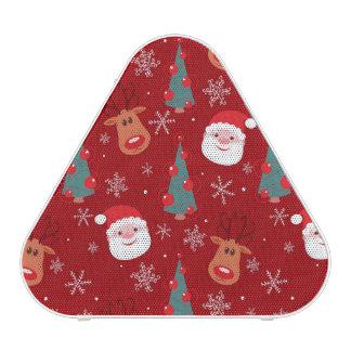 Red Christmas pattern Speaker