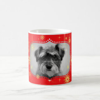 Red Christmas Photo Frame Gifts Coffee Mug