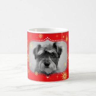 Red Christmas Photo Frame Gifts Mug
