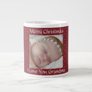 Red Christmas Photo Mug