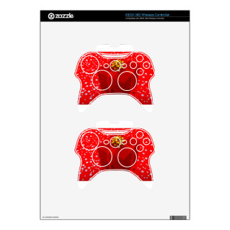 Red Christmas Present Box Xbox 360 Controller Skins