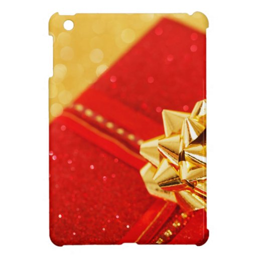 Red Christmas Present Case For The iPad Mini