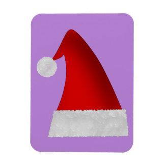 Red Christmas Santa Hat Magnet