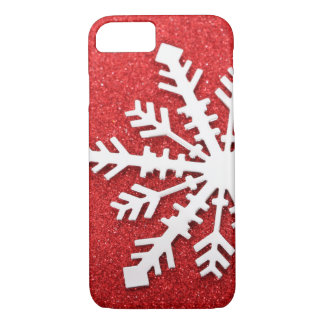 Red Christmas Sparkles iPhone 7 Case