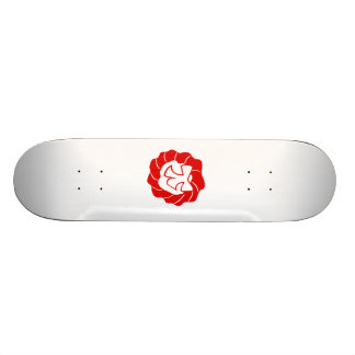 Red Christmas Wreath with Bow Skate Decks