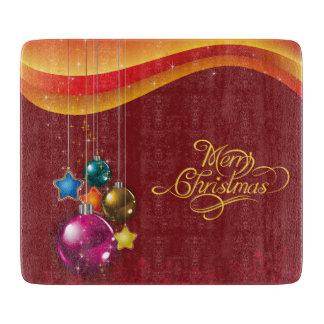Red christmassy Cutting Board