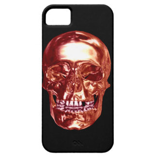Red Chrome Skull iPhone 5 Case iPhone 5 Covers