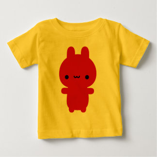Red Chubby Bunny Baby T-Shirt