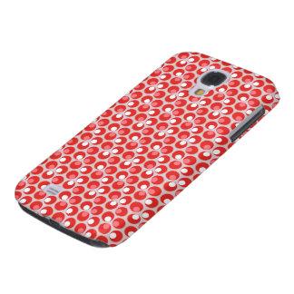 Red Circle Design Samsung S4 Case