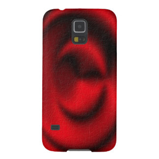 Red circle pattern cases for galaxy s5