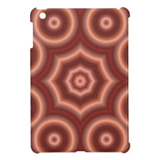 Red Circle Pattern iPad Mini Cover