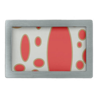 red circle white background belt buckles