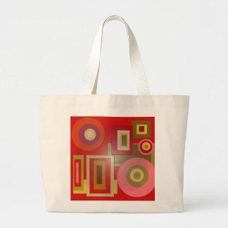red circles squares bags