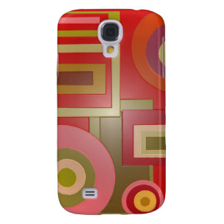 red circles squares samsung galaxy s4 covers