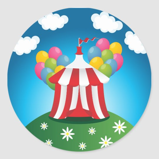 Red Circus Tent Stickers  sc 1 st  Zazzle & Red Circus Tent Stickers | Zazzle.com