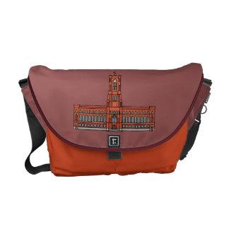 Red City Hall Berlin Messenger Bag