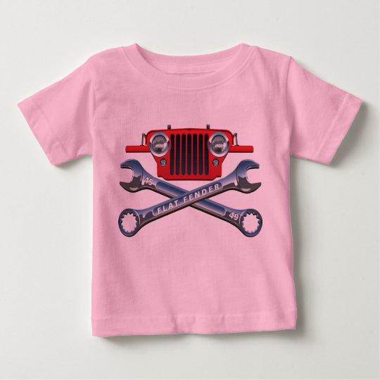 Red CJ2A Baby Girl's Tee