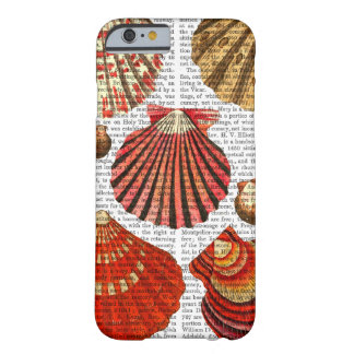 Red Clam Shells Barely There iPhone 6 Case