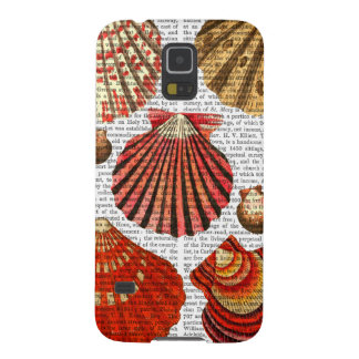 Red Clam Shells Case For Galaxy S5