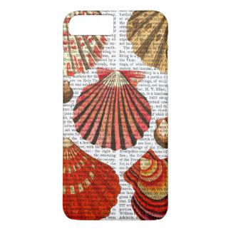 Red Clam Shells iPhone 8 Plus/7 Plus Case