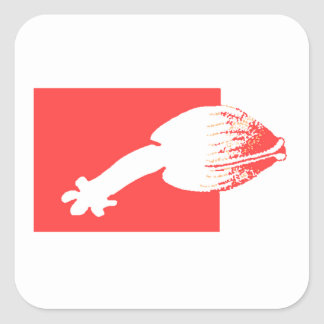 Red Clam Stickers