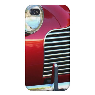Red Classic Car  iphone 4 Speck Case Case For iPhone 4