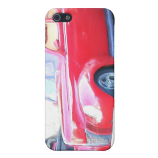 Red Classic car  iphone 4 Speck Case iPhone 5 Cover