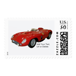 Red Classic Car U.S. Postage Stamps