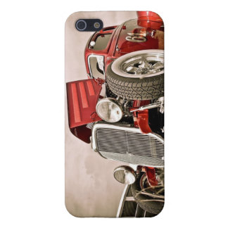 Red Classic Collectors Car Cases For iPhone 5