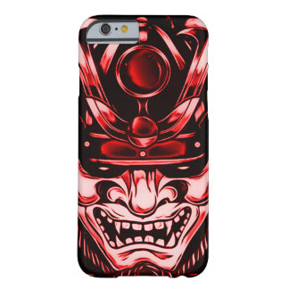 Red Classic Demon Samurai iPhone Barely There iPhone 6 Case