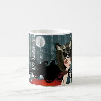 Red Classic White Coffee Mug