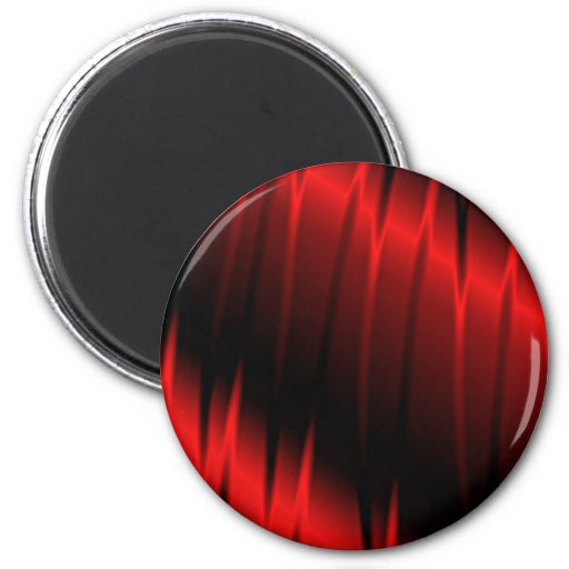 Red Claws 2 Inch Round Magnet