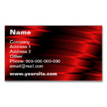 Red Claws Magnetic Business Cards (Pack Of 25)