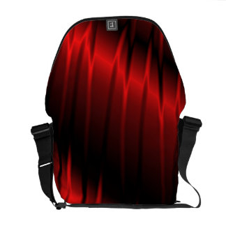 Red Claws Messenger Bag