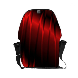 Red Claws Small Messenger Bag