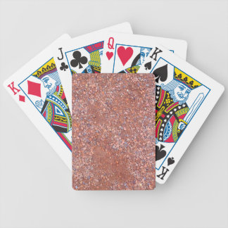 Red Clay Court, Gravel, Shale Stone Brick, Tennis Bicycle Playing Cards