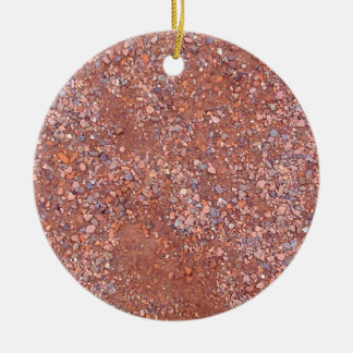 Red Clay Court, Gravel, Shale Stone Brick, Tennis Ceramic Ornament