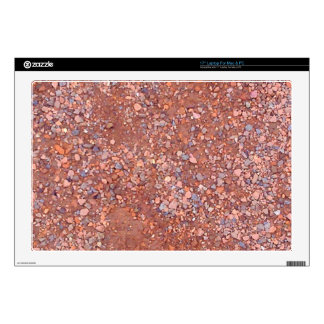 Red Clay Court, Gravel, Shale Stone Brick, Tennis Skin For Laptop