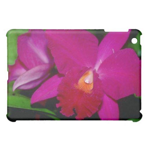 Red Cleya flowers iPad Mini Cases