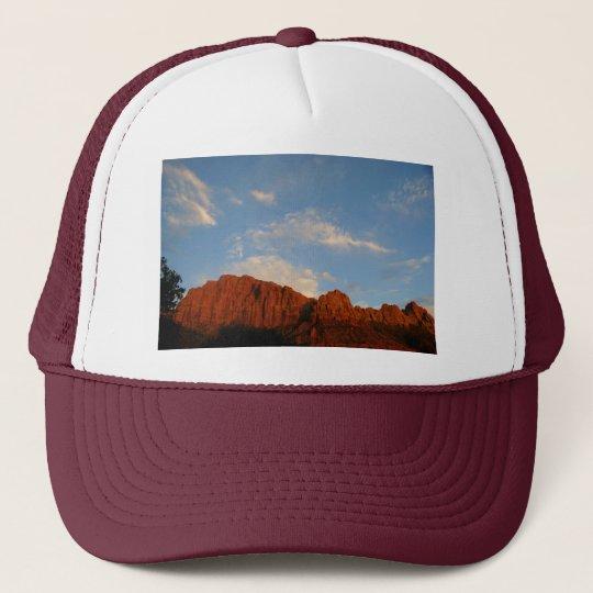 Red Cliffs of Zion Trucker Hat
