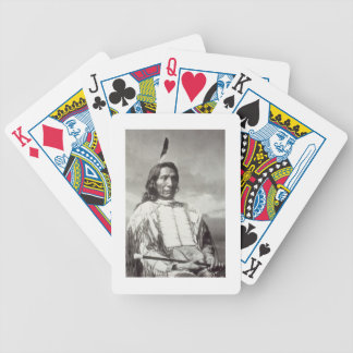 Red Cloud Chief (1822-1909) 1880 (b/w photo) Bicycle Playing Cards