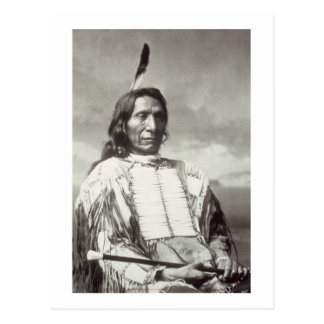 Red Cloud Chief (1822-1909) 1880 (b/w photo) Postcard