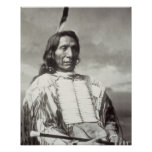 Red Cloud Chief (1822-1909) 1880 (b/w photo) Poster