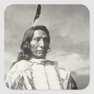 Red Cloud Chief (1822-1909) 1880 (b/w photo) Square Sticker