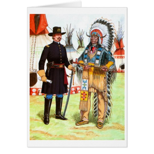 Red Cloud, Chief of the Oglala Sioux Card