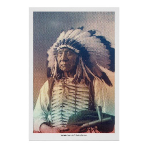 Red Cloud I Poster