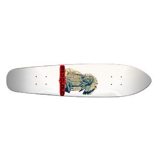 Red Cloud Skateboard Deck
