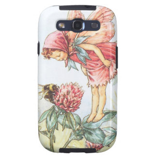 Red Clover Fairy Galaxy SIII Cases