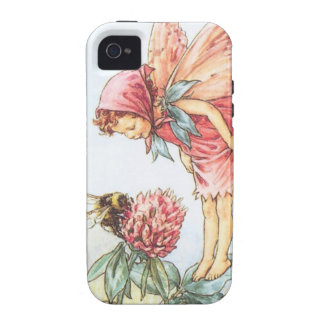 Red Clover Fairy iPhone 4/4S Cases